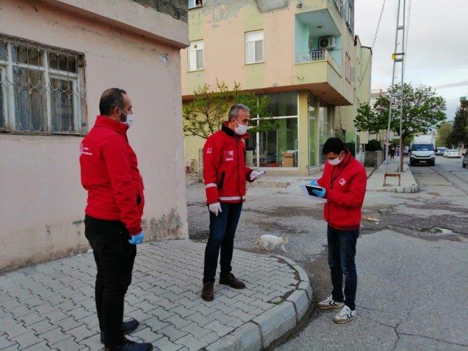 AÇSH Müdürü Çelik, Vefa Sosyal Destek çalışmalarına katıldı