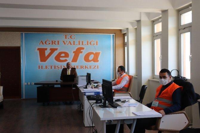 Ağrı Vefa Sosyal Destek Grubu 6 bin 418 kişinin ihtiyacını karşıladı