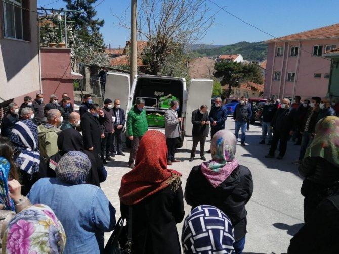 Ak Parti Çan İlçe Kadın Kolları Başkanı Birsen Dirlik'in acı günü