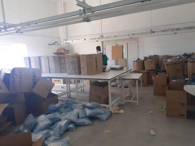 Altıntaş'ta tekstil fabrikasının kapasitesi arttırılıyor