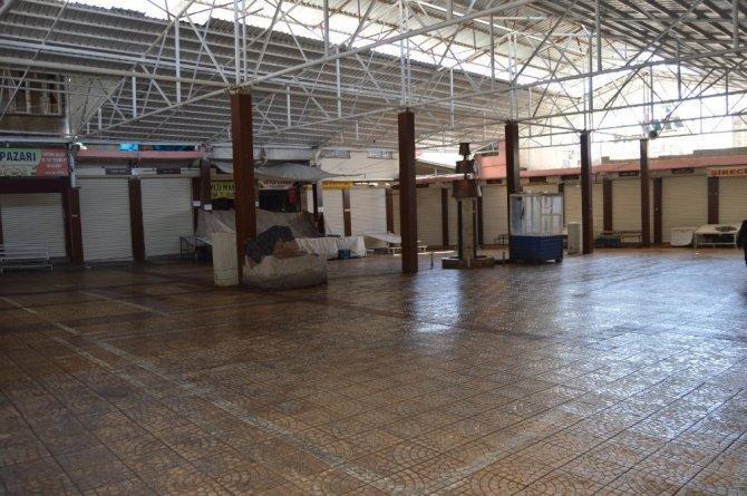 Besni Belediyesi şire pazarı esnafını mağdur etmedi