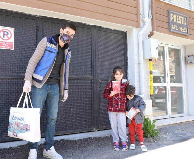 Mudanya Belediyesi, 23 Nisanı evlere taşıyor