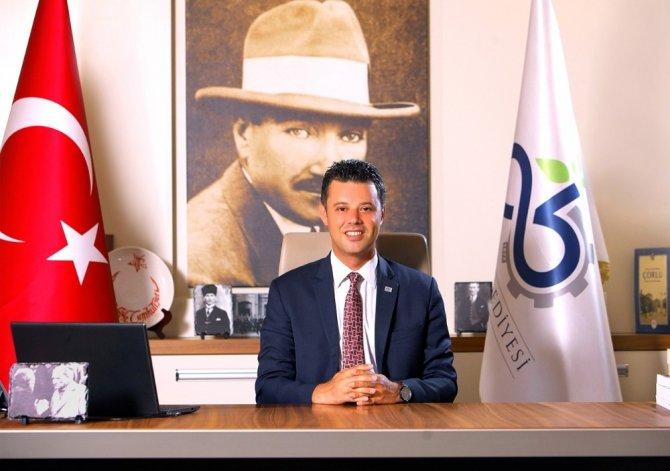 """Çorlu Belediye Başkanı Ahmet Sarıkurt, """"Çorlu bizim evimiz"""""""