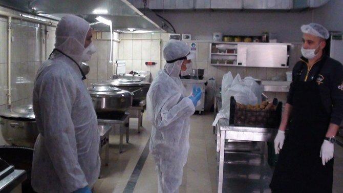 Gıda işletmelerine korona virüs denetimi
