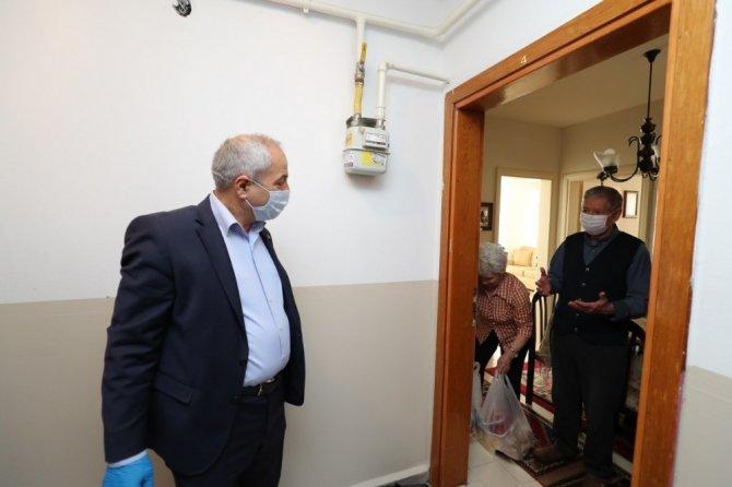 Onlar istedi Başkan Büyükgöz evlerine ulaştırdı