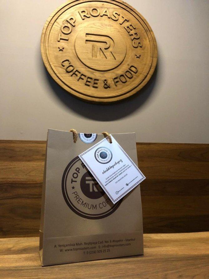 İstanbul'dan İzmit'e bin paket kahve gönderdiler