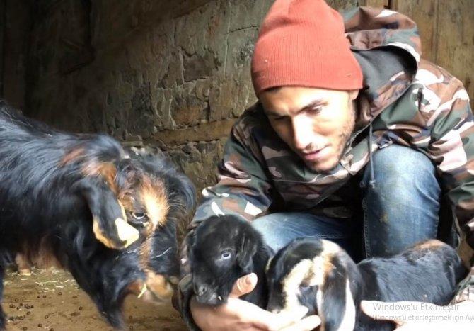 Konya'nın YouTuber çobanı büyük ilgi görüyor