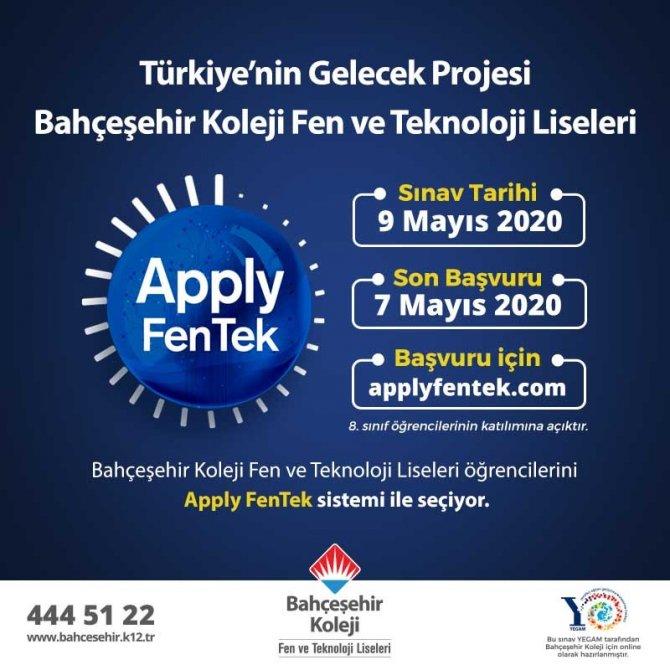 Bahçeşehir Kolejinden evde online sınav