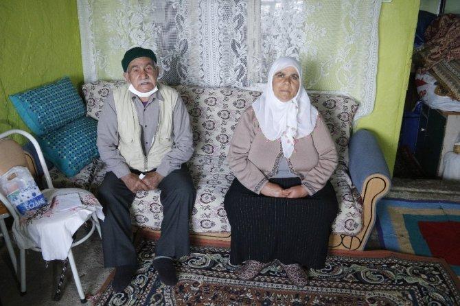 Cumhurbaşkanı Erdoğan ile görüşen yaşlı çift: