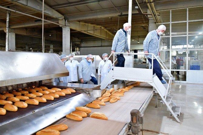 ABB Meclis üyeleri, Halk Ekmek Fabrikasını inceledi