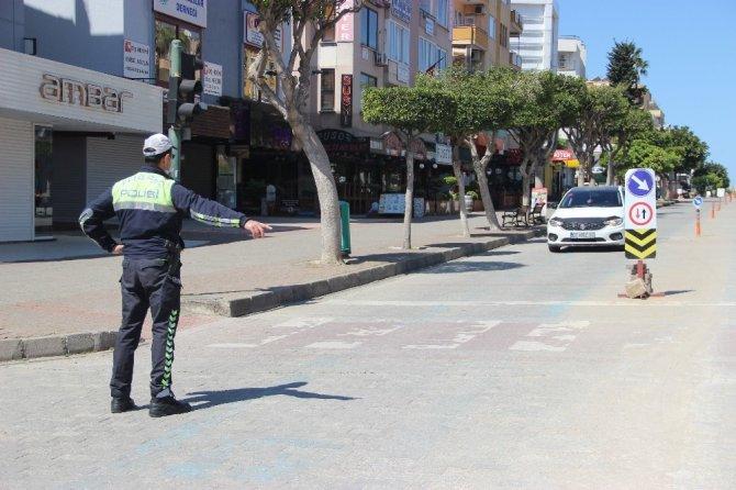 Alanya'da 69 kişiye 136 bin TL ceza