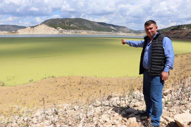 Baraj göleti üzerinde oluştu, bölge halkını tedirgin etti