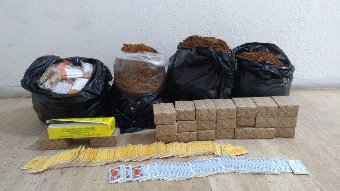 Polisten tütün satıcılarına yönelik bandrol okuma cihazlı operasyon