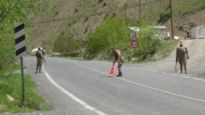 Pancar toplarken ayağı kırılan vatandaş dağda mahsur kaldı