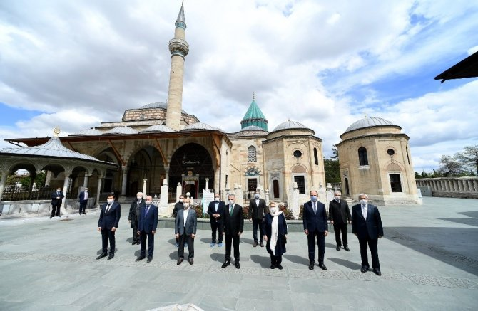 Hazreti Mevlana Konya'ya gelişinin 792. yılında anıldı