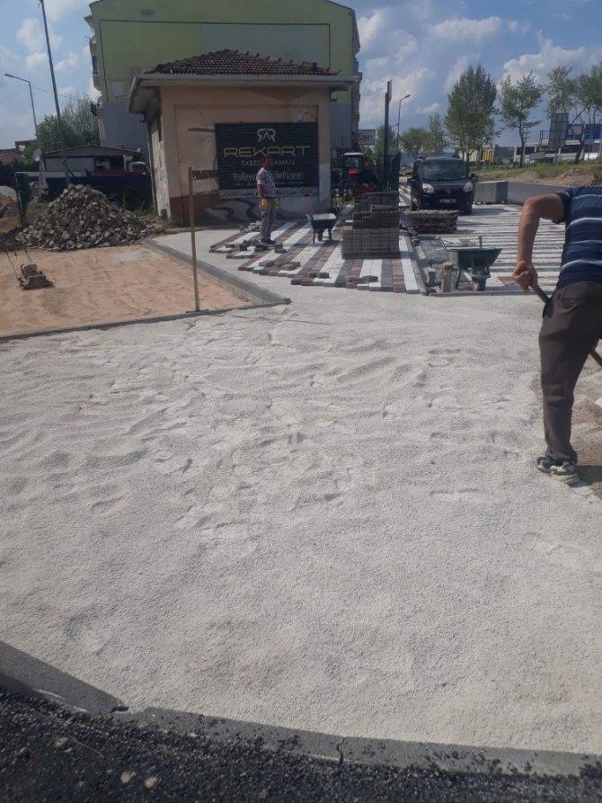 İnegöl'de 52 araçlık otopark yapılıyor