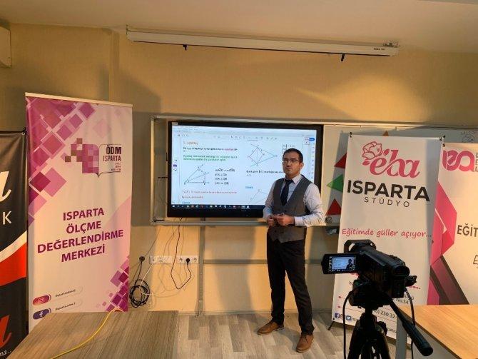 Isparta Milli Eğitim Müdürlüğü uzaktan eğitim stüdyosu kurdu