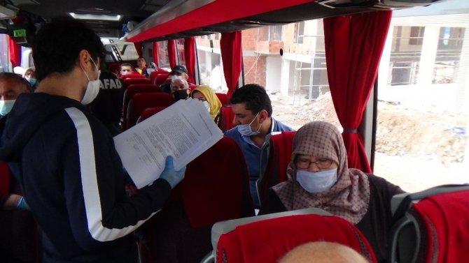 Kütahya'ya getirilen 164 vatandaşın karantina süreci tamamlandı