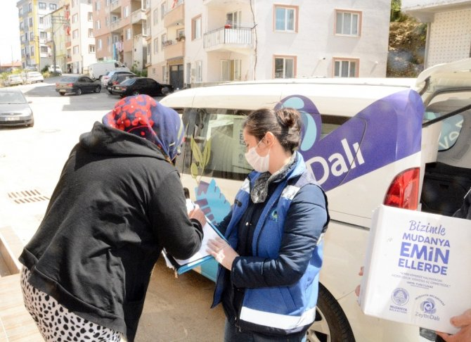 Mudanya'da korona virüse karşı büyük mücadele