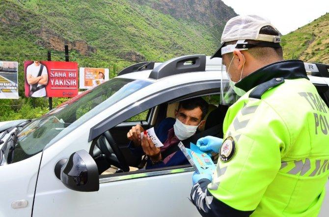 Uludere'de Trafik Haftası etkinlikleri