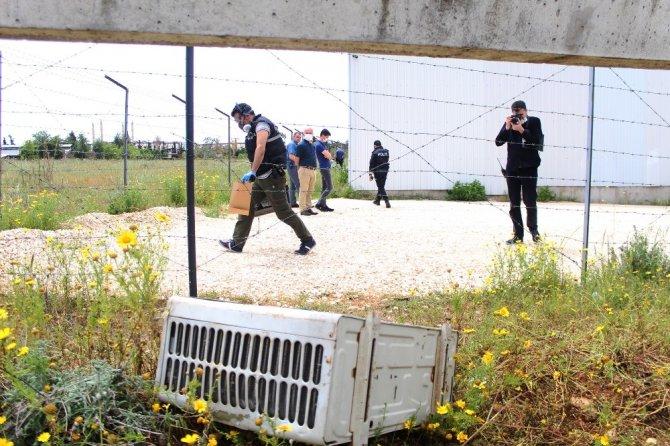 Akdeniz Üniversitesinden el arabasıyla klima hırsızlığı