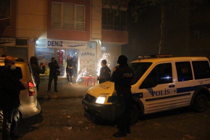 Kavga ihbarına giden polis ve sağlık çalışanlarına şok sürpriz