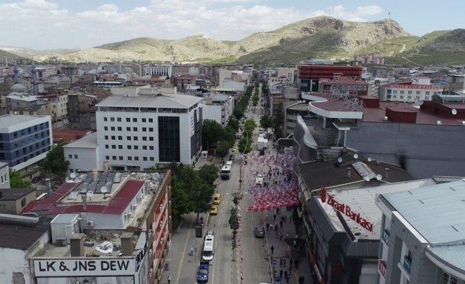 Van Büyükşehir Belediyesi, Cumhuriyet ve Maraş caddelerini yenileyecek