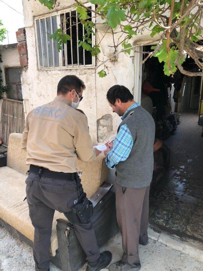 Burhaniye'de Vefa Sosyal Destek ekipleri vatandaşın hizmetinde