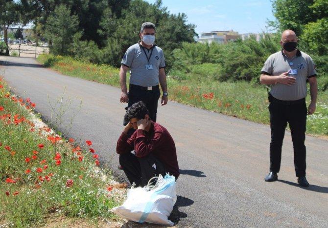 Acemi hırsız aynı yere 4'üncü kez gelince yakalandı
