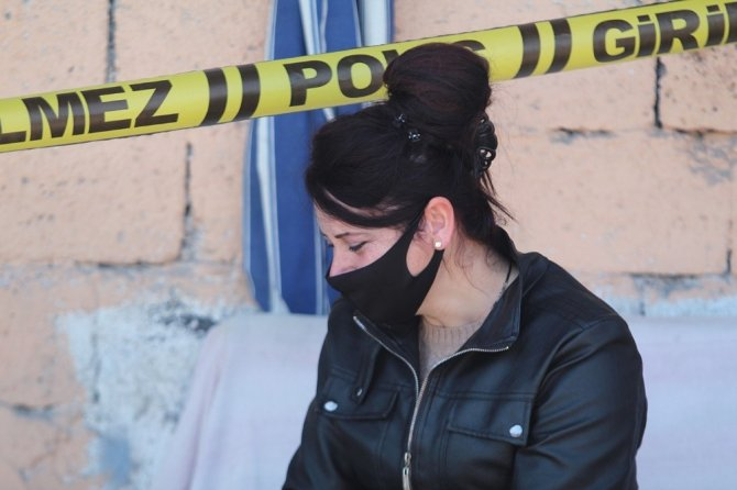 İş yerine camdan giren kızı acı manzarayla karşılaştı
