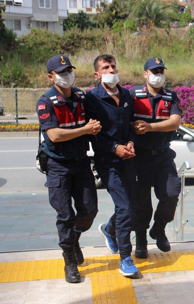 Alanya'da pompalı saldırgan tutuklandı