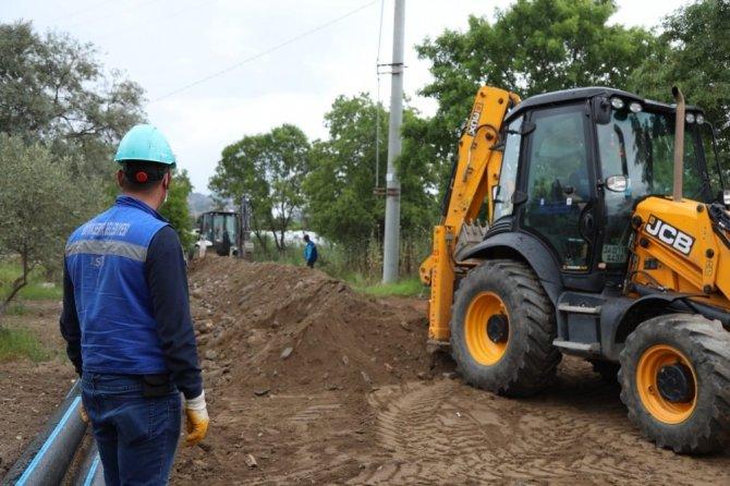 ASKİ Sultanhisar'da çalışmaya devam ediyor