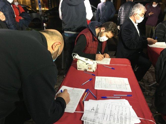 Başkan Şadi Yazıcı'dan Kızılay'ın kan bağışı kampanyasına destek
