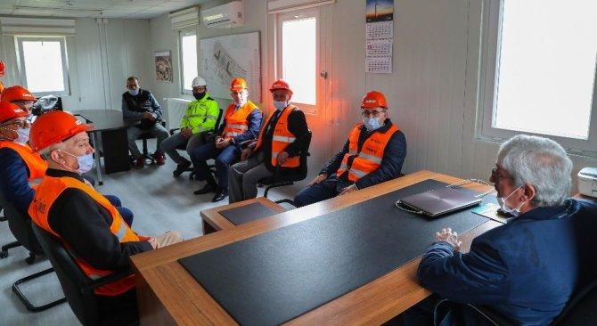 Başkan, Şehir Hastanesi inşaatını inceledi