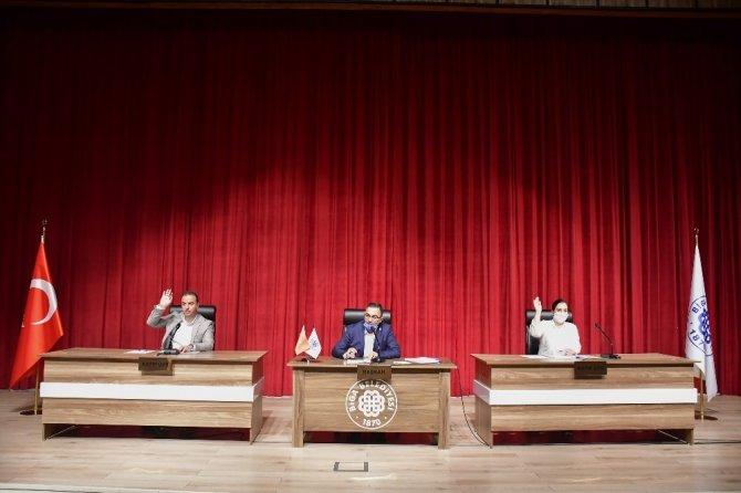 Biga Belediye Meclisi olağanüstü toplandı