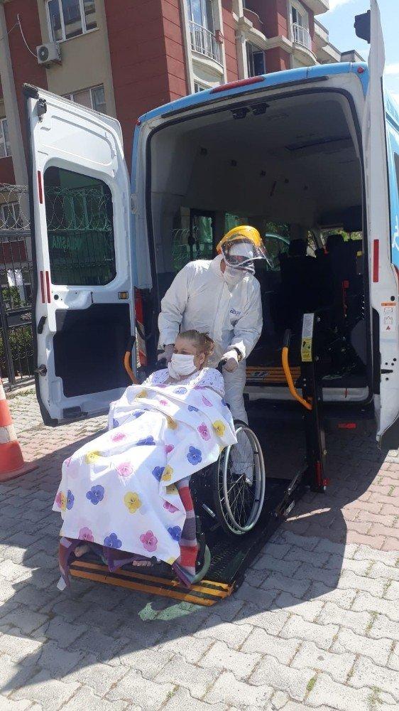 Büyükçekmece'de salgın döneminde 375 kişiye evde sağlık hizmeti verildi