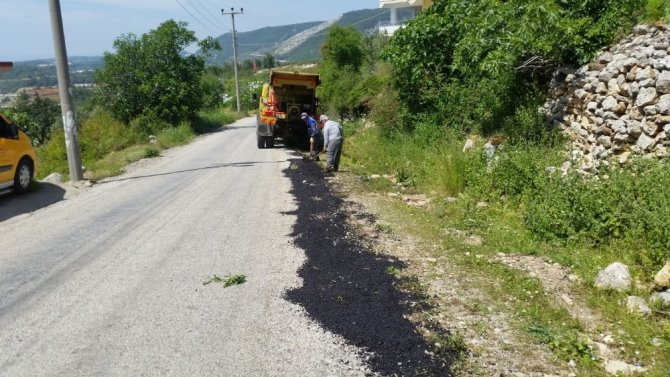 Büyükşehir'den Alanya kırsalında çalışma