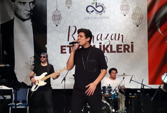 Çorlu Belediyesinden Ramazan konserleri