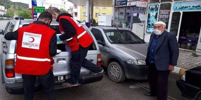 Kızılay'dan İskilip Belediyesi Aşevi'ne yardım
