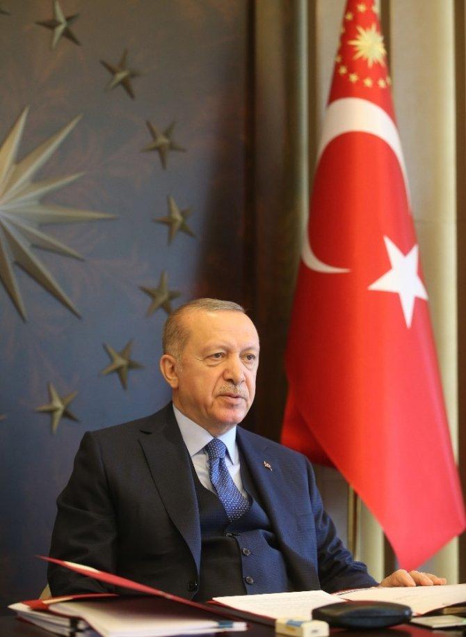 """Cumhurbaşkanı Erdoğan uyardı: """"Kurallara uymazsak bedelini hep birlikte öderiz"""""""