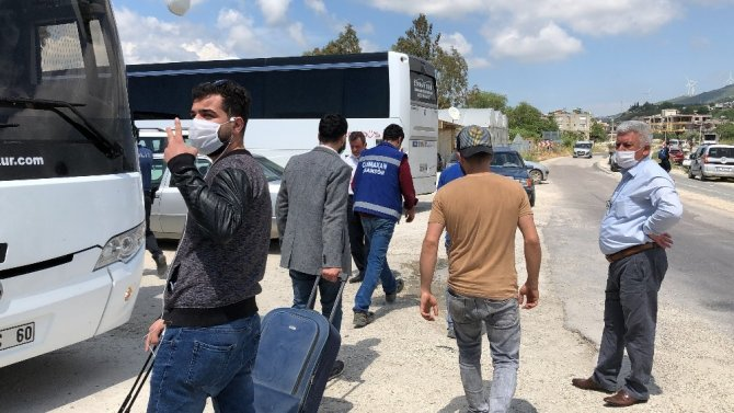 Karantinası biten 105 kişi ailelerine kavuştu