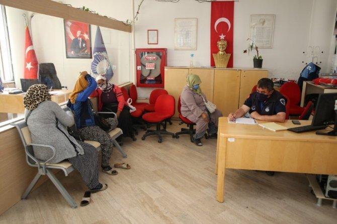 Burhaniye'de dilenci operasyonu