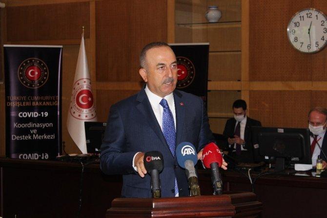 """Bakan Çavuşoğlu: """"103 ülkeden 65 binden fazla vatandaşımızı tahliyelerle ülkemize getirdik"""""""