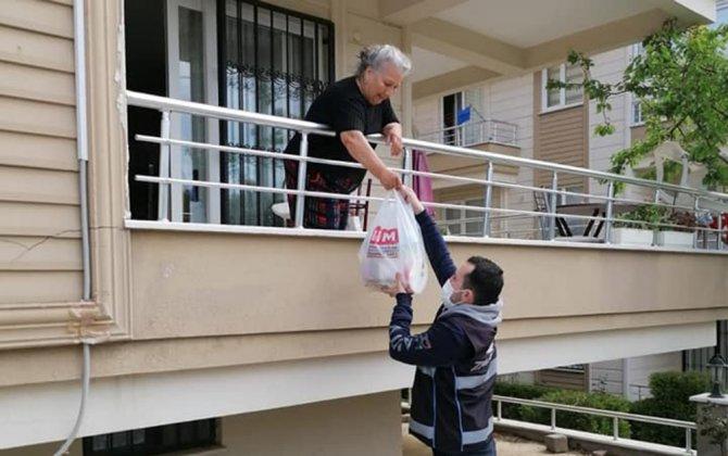 "Erdek'te ""Vefa Grubu"" 555 vatandaşa hizmet verdi"
