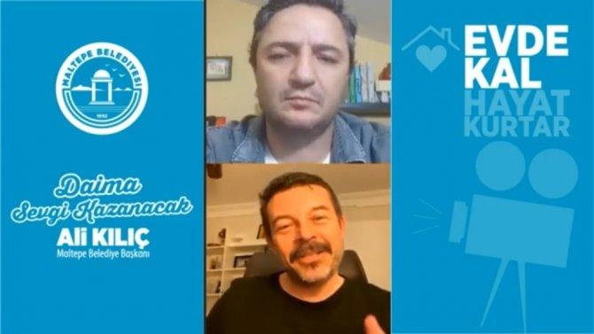 """Yönetmen Murat Şeker, """"Evde Röveşata"""" ya konuk oldu"""