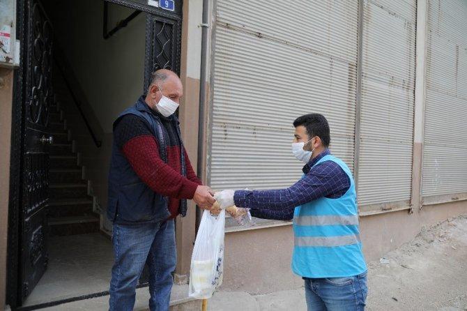 Büyükşehir'den Ramazan ayı boyunca yiyecek yardımı