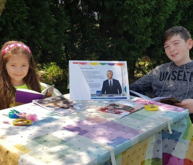 Başkan Babaoğlu miniklerin yüzünü güldürdü