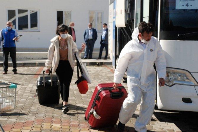 İspanya'dan getirilen 93 vatandaşın karantina süreci sona erdi