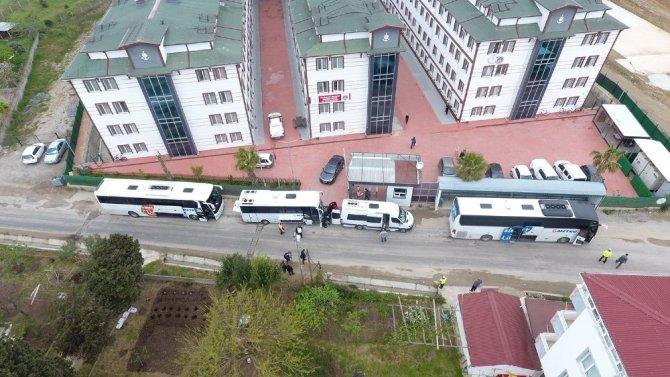 Sinop'taki gurbetçi vatandaşların karantina süreleri sona erdi