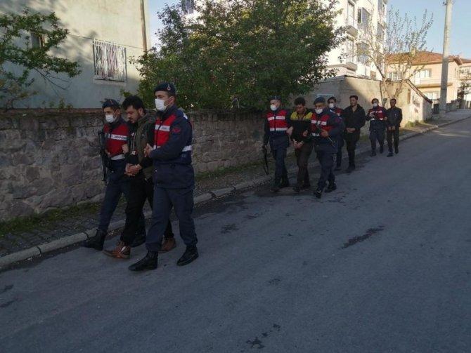 Kayseri'de terör operasyonu: 7 gözaltı